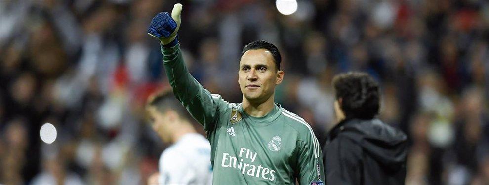 Keylor Navas está en un aprieto, y sus días en el Real Madrid se cuentan con los dedos de las manos