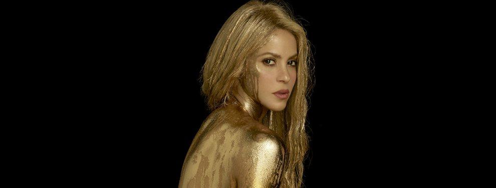 Shakira muestra un video meneando el trasero en el que tiene una cola que parece de abuela