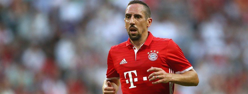 Frank Ribery podría llegar en este mercado veraniego al recién ascendido a la Premier League, el Sheffiel United.