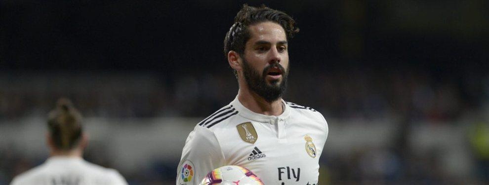 Isco Alarcón puede salir del Real Madrid y el Tottenham de Mauricio Pocchettino lo quiere como relevo de Eriksen