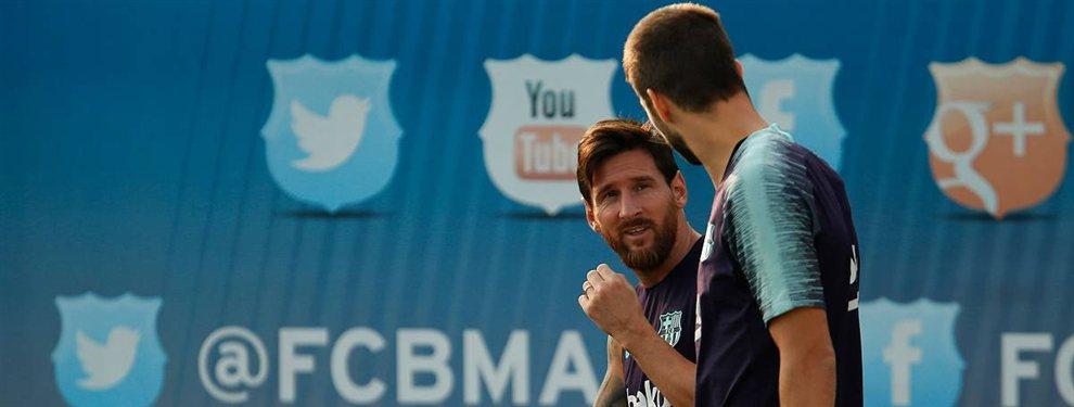 El Barça ha aceptado traspasar a Ivan Rakitic, y ni Leo Messi ni Piqué moverán un dedo por retenerle