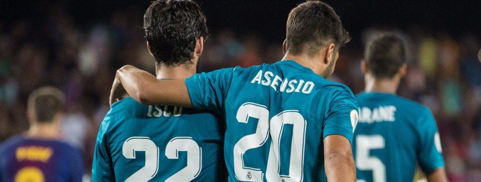 Isco y Marco Asensio se encuentran a la espera de saber que les deparará el futuro en el Real Madrid