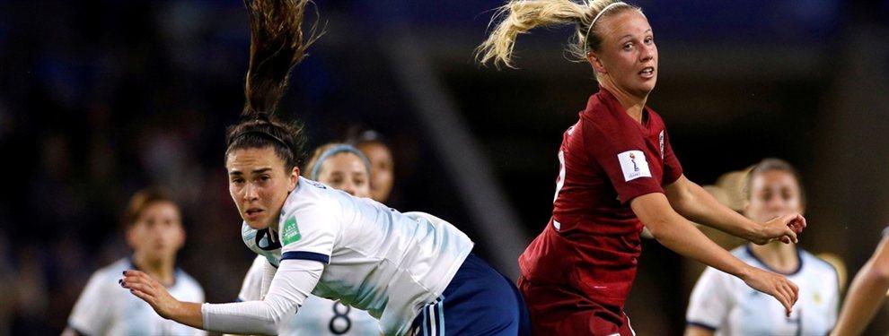 La Selección Argentina cayó 1 a 0 contra Inglaterra en la segunda jornada del Mundial Femenino.