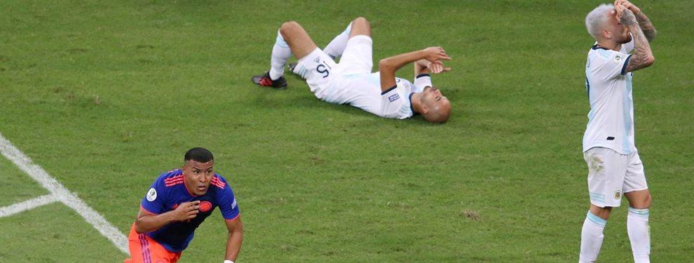 En el debut de la Copa América, Argentina fue derrotado por 2 a 0 ante Colombia en la primer fecha.