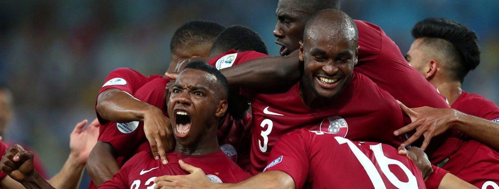 Qatar remontó dos goles de desventaja en el marcado y terminó igualando por 2 a 2 con Paraguay.