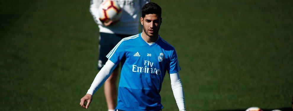 El Real Madrid escucha ofertas por Marco Asensio, pero ninguna llega a los 120 millones que piden por él