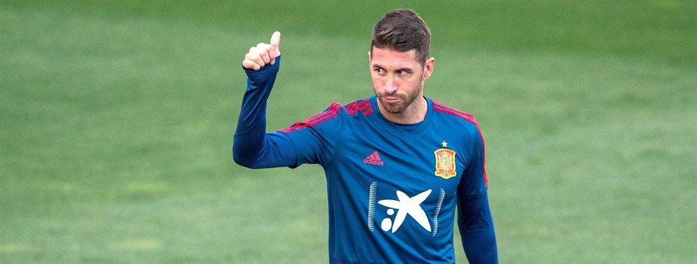 Sergio Ramos no quiere a Mino Raiola en el Real Madrid y ha pedido a Florentino Pérez que no fiche ni a Pogba ni a De Ligt