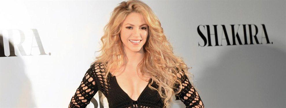 A Shakira se le pudo ver en la playa con un bikini que dejaba ver unos cuantos kilos de más