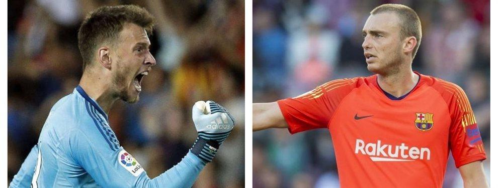 FC Barcelona y Valencia planean intercambiarse a los porteros cillessen y neto murara.