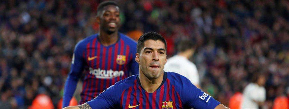 El Valencia será el destino más probable de Maxi Gómez, del Celta, que estaba en la agenda del Barça