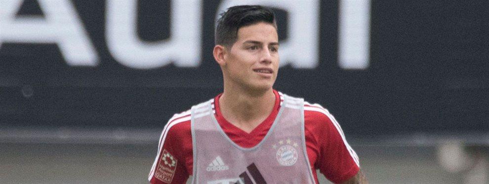 El Arsenal de Unai Emery quiere dinamitar el fichaje de James Rodríguez por el Napoli