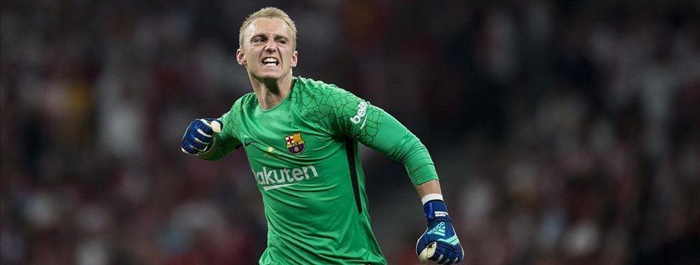 El Barça busca relevo para Jasper Cillessen, que podría ser Neto Murara o Pau López