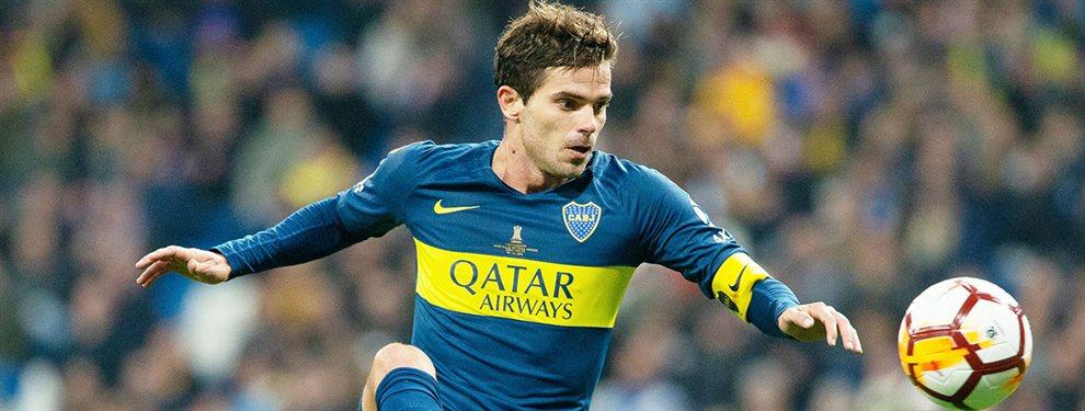 Fernando Gago se encuentra en plena recuperación de la rotura del tendón de Aquiles y podría recalar en Vélez.