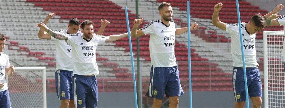 Lionel Scaloni ensayó con cuatro variantes en la Selección Argentina para enfrentar a Paraguay.