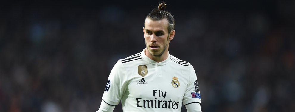 Gareth Bale no quiere abandonar el Real Madrid y cierra la puerta de su salida. Habrá lío.