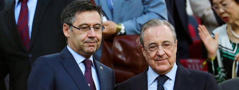 El Real Madrid le ha tomado la delantero al FC Barcelona en lo que ha fichajes se refiere