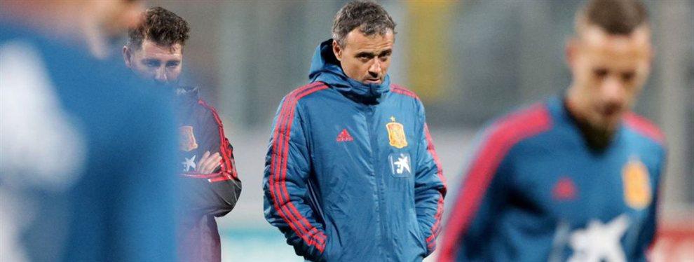 Luis Enrique renunció de manera sorpresiva a la selección de España por motivos familiares.