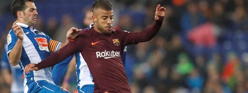 Rafinha puede convertirse en jugador del Valencia FC durante este periodo de mercado veraniego