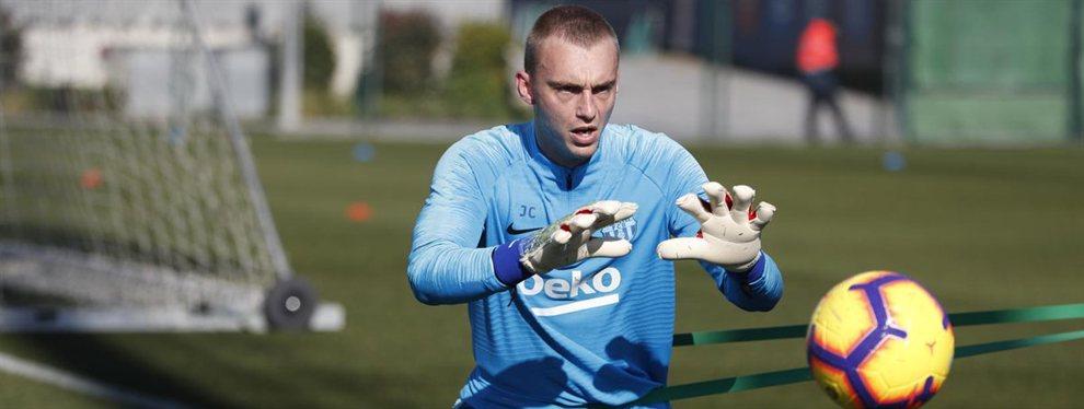 Wuilker Faríñez se ha ofrecido al Barça para ser el recambio de Jasper Cillessen