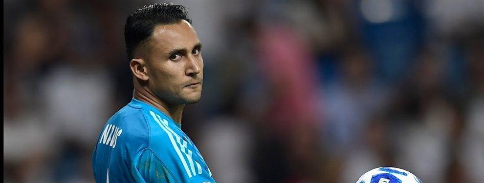 Keylor Navas negocia su salida y su destino más probable será el Benfica, que traspasará a Joao Félix