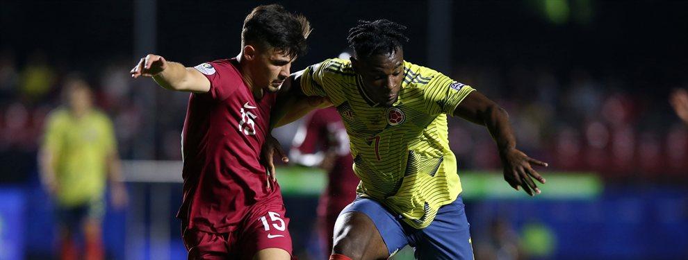 Duván Zapata está siendo la gran estrella de Colombia y el Everton de Yerry Mina ya ha ofrecido 50 millones por el
