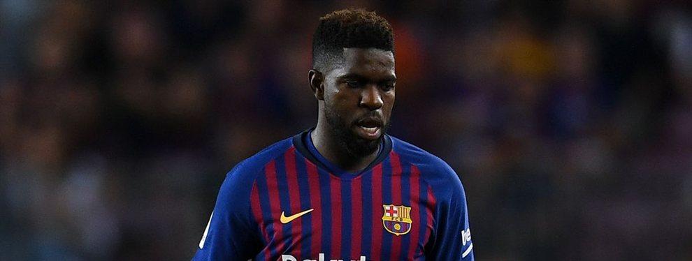 Samuel Umtiti está en la lista de transferibles, pero las ofertas que el Barça recibe por él son demasiado bajas
