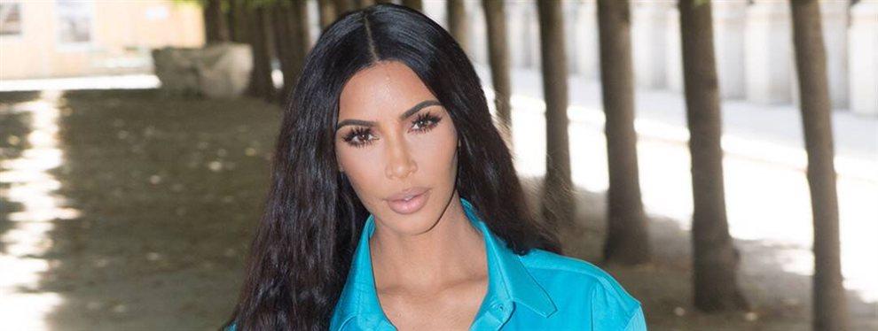 Kim Kardashian ha subido un vídeo en el que se aprecian sus dotes de maquillaje