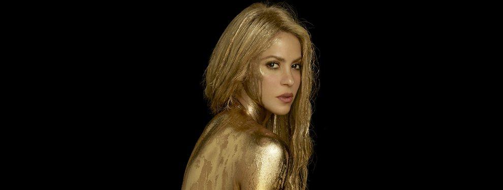 Shakira publicó un 'post' en el cuál aparece dándose un baño en la piscina de su casa