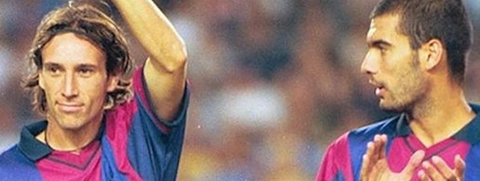 Alfonso Pérez dice estar muy decepcionado con su excompañero Pep Guardiola por sus manifestaciones políticas.