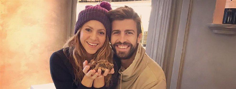 Shakira y Piqué dieron rienda suelta a su amor en las playas, siendo captados por las cámaras