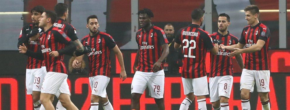 El Milan se ha unido a la subasta para hacerse con los servicios de Ceballos y Mariano