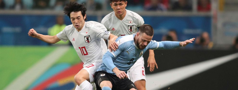 Uruguay igualó 2 a 2 con Japón luego de encontrarse dos veces en desventaja en el marcador.