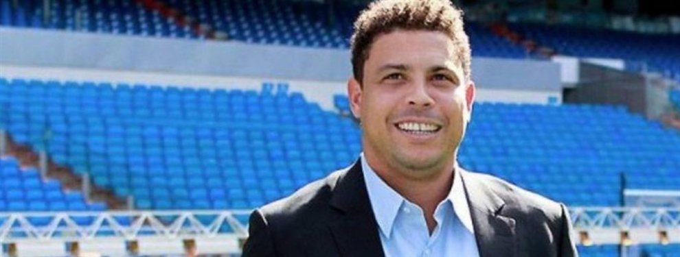 El primer año de Ronaldo Nazario en el Real Valladolid ha terminado con final feliz
