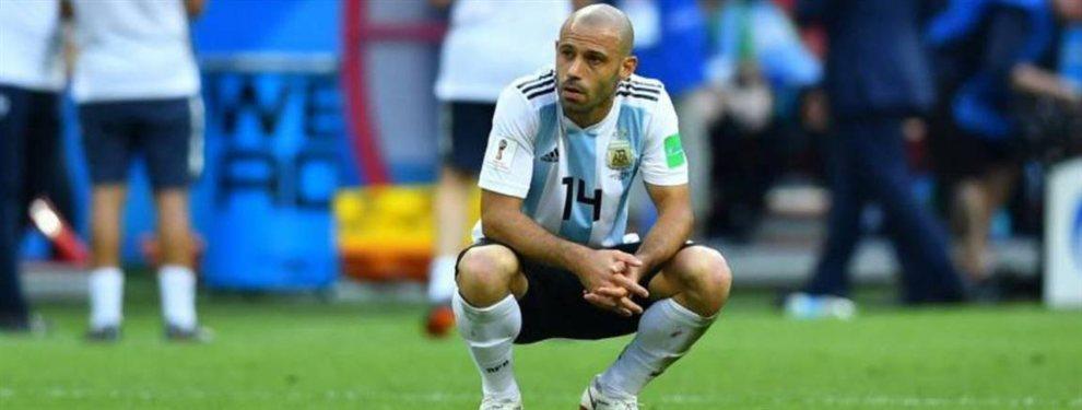 Javier Mascherano no recibió el permiso del Hebei Fortune y no podrá participar de los Panamericanos.