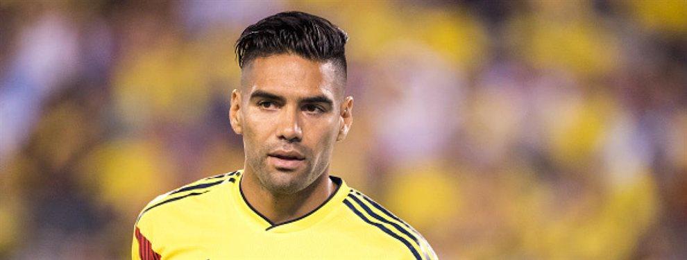 Falcao está participando en uno de sus últimos torneos internacionales con su selección.