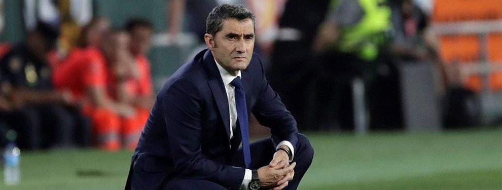 Ernesto Valverde ha prohibido la llegada de Dani Alves, que ha anunciado que dejará el PSG, y se ha ofrecido al Barça