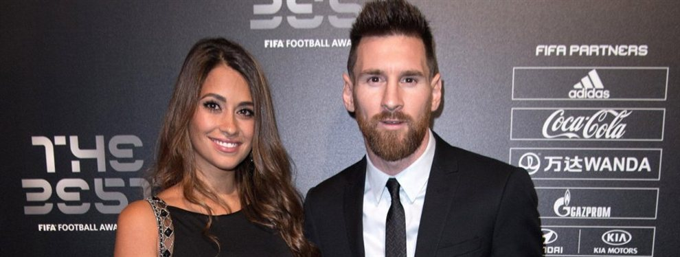 El Manchester City de Pep Guardiola quiere llevarse a Leo Messi del Barça. Antonella Roccuzzo ya lo sabe.