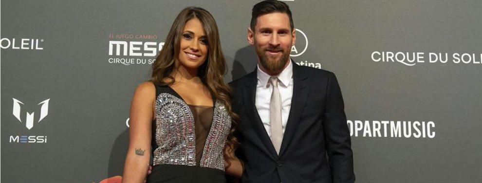 Antonella Roccuzzo le dedicó un romántico y gracioso mensaje a Lionel Messi en su cumpleaños.