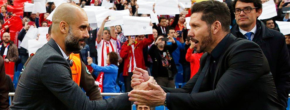 El Atlético de Madrid se ha fijado en Nico Otamendi para reforzar la defensa, ya que es suplente para Pep Guardiola