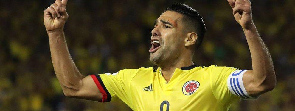 Radamel Falcao está rindiendo por debajo de las expectativas en la Copa América, por lo que le costará más encontrar destino