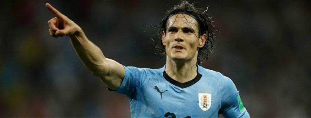 Uruguay consiguió una ajustada victoria por 1-0 frente a Chile con gol de Cavani