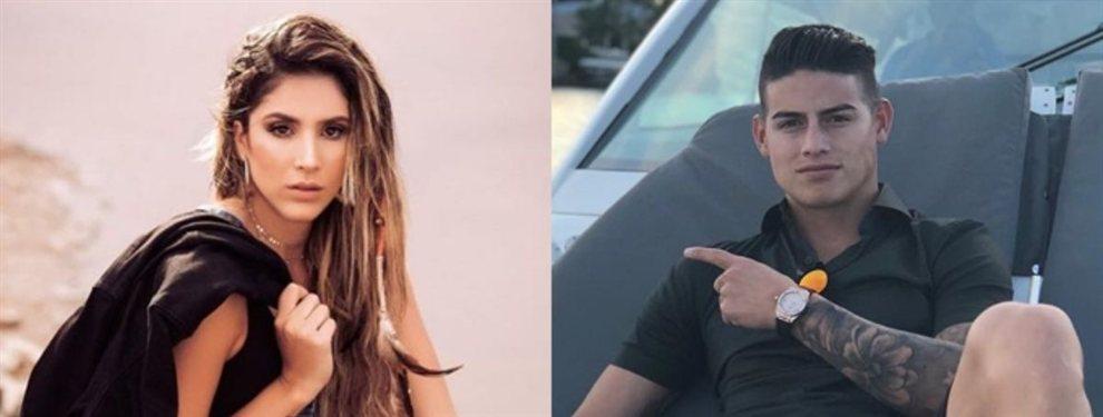 Daniela Ospina pide a James Rodríguez que no abandone Europa y se aleje de su hija, Salomé.