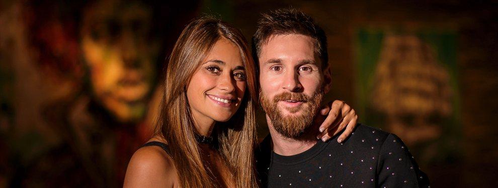 Antonella Roccuzzo se despidió de Messi felicitándole su cumpleaños y dándole ánimos para el partido ante Venezuela