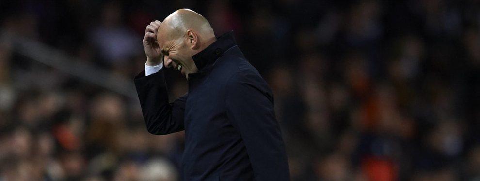 Zinedine Zidane comienza a olvidarse de Sadio Mané y se centra en su compañero, Mohamed Salah