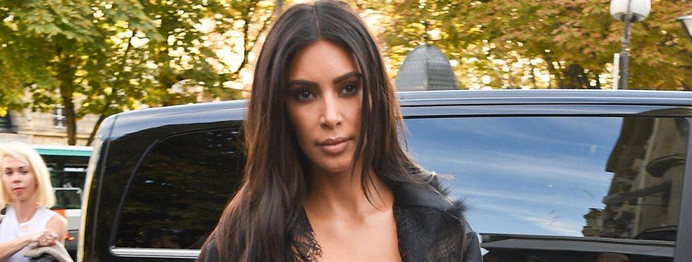 Kim Kardashian subió una foto junto a su marido, Kanye West, en el que lucía un modelito impresionante