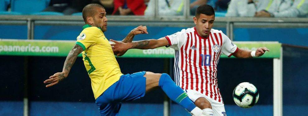 Brasil y Paraguay se enfrentan en el primer encuentro de los cuartos de final de la Copa América.