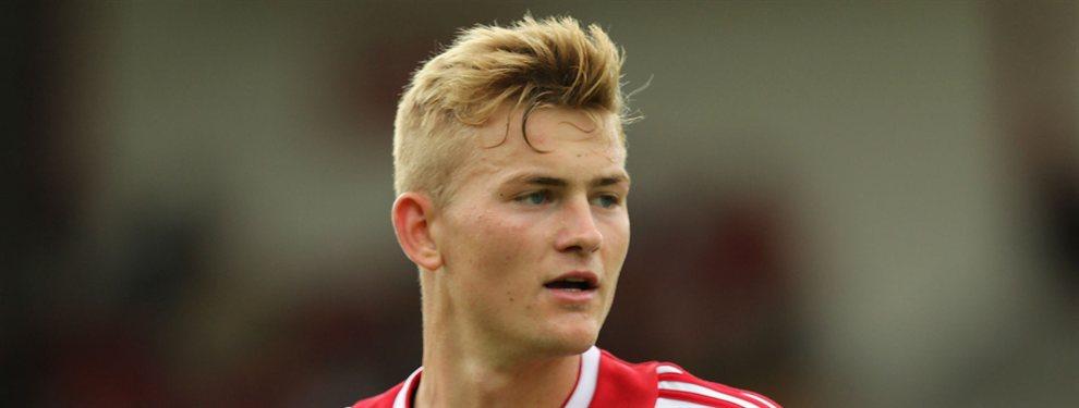 El futbolista del Ajax, Matthijs De Ligt podría ser jugador de la Juventus proximamente
