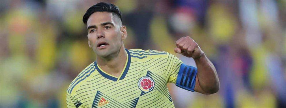 Radamel Falcao puede acabar en el PSG, que perdería a Cavani, que pondrá rumbo al Atlético