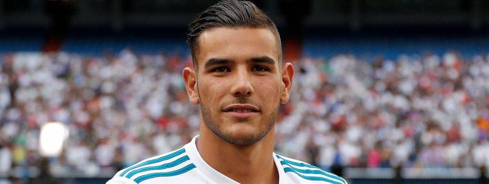 El jugador del Real Madrid Theo Hernández podría ser jugador del Milan en los próximos días