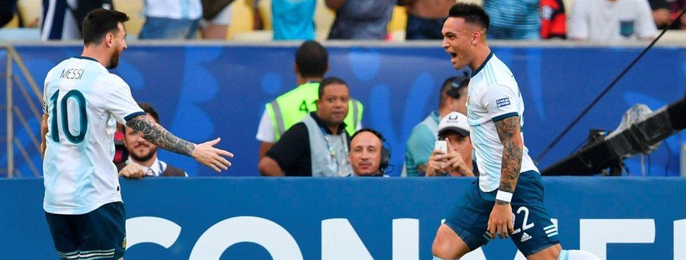 La Selección Argentina venció por 2-0 a Venezuela y se enfrentará con Brasil en la semifinal de la Copa América.